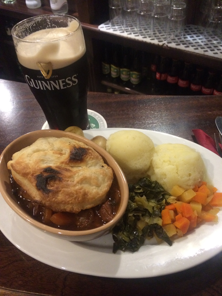 Steak and ale/Photo by Molly Morris.