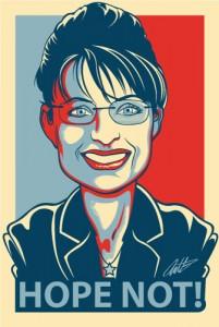 Sarah Palin editorial cartoon