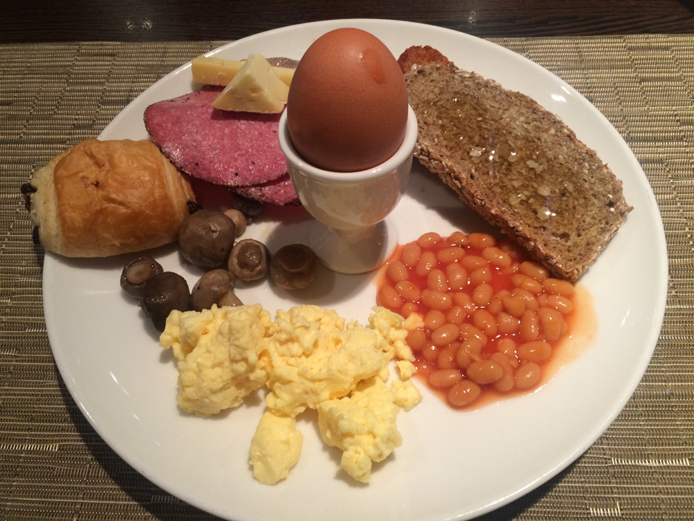Fry-up (Photo by Molly Morris)